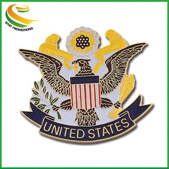 Accept Custom Order Metal Lapel Pin Badge Wholesale