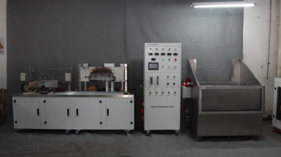 Wire Fire Resistance+ Mechanical Shock +Water Spray Tester, BS6387 pictures & photos