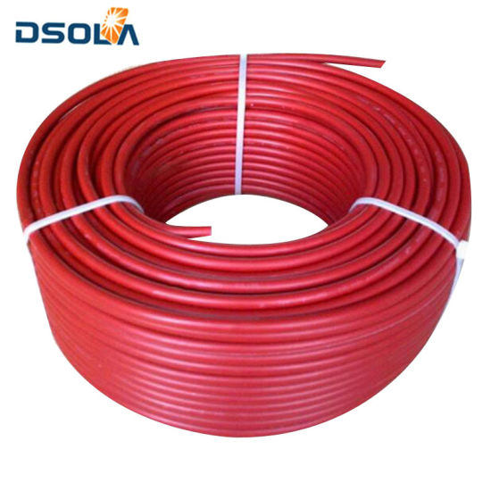Daols ODM / OEM Design Durable Low Smoke Free Halogen Solar Cable 4mm2 pictures & photos