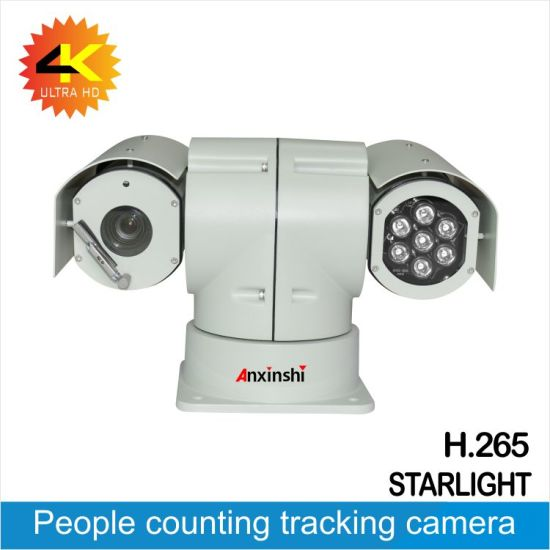 China 4K 22X Starlight Smart Analysis Crossing Line Motion Detection