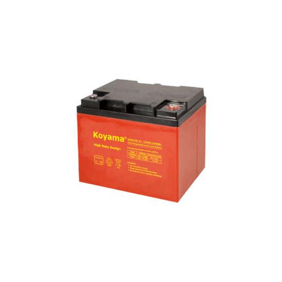 12V 42ah High Rate Design UPS Battery Emergency Power Nph170-12