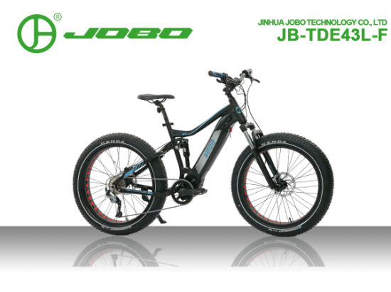 Electric Fat Bike Full Suspension with Bafang M600 Drive
