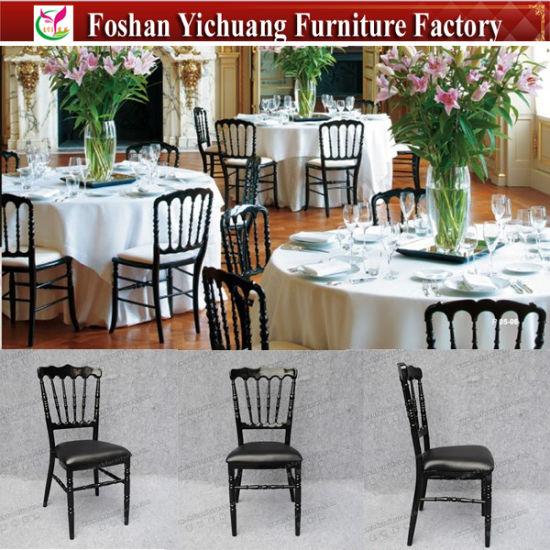 Black Color Wedding Chiavari Tiffany Silla for Sale Yc-A337