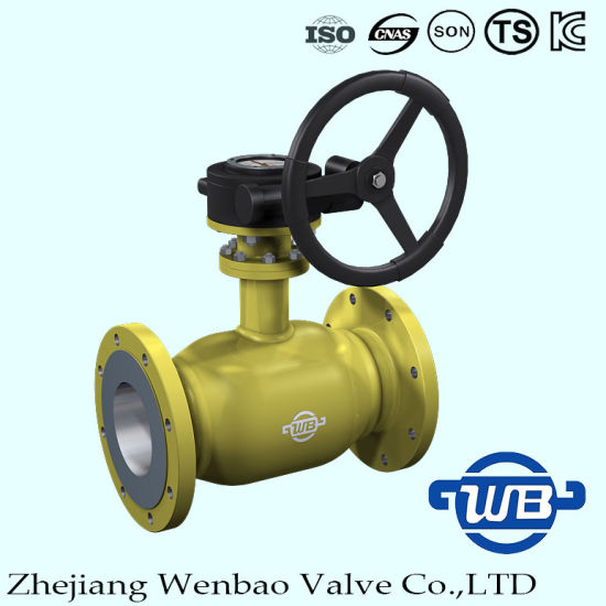 Flanged Fully Welded Ball Valve with Floating Ball for Industry pictures & photos