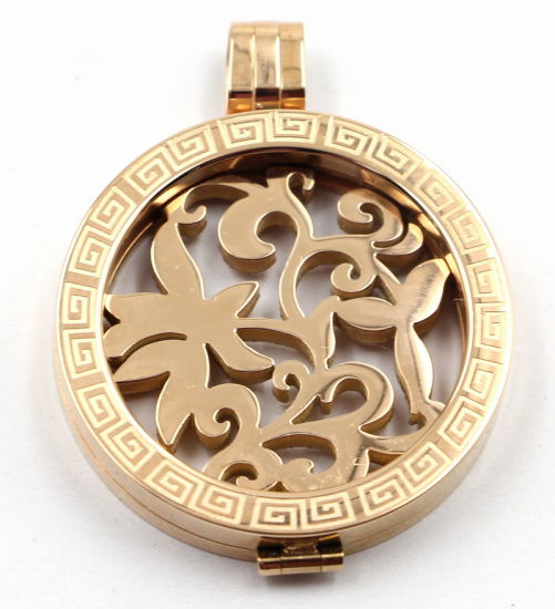 Rose Gold Memory Locket for Fashion Necklace Jewelry pictures & photos
