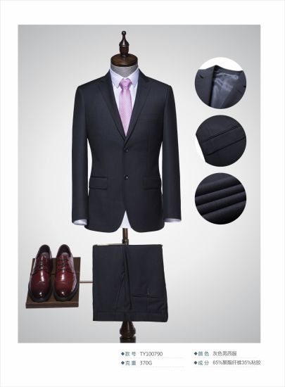 High-Quality Fashion Men's Classic Fit Business and Wedding Suits