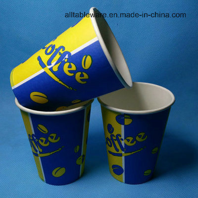 Disposable Hot Paper Cup with Lids pictures & photos