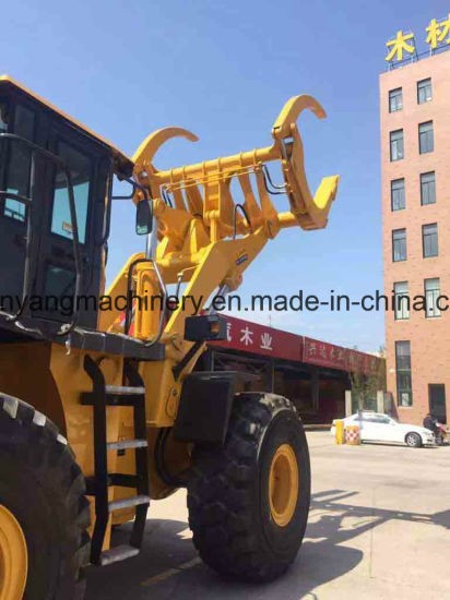 China Made 12ton Big Capacity Log Grapple Loader pictures & photos