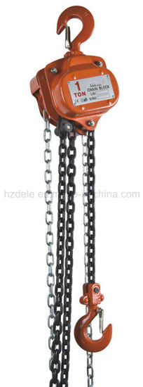 Vc-B 1.5ton Hand Chain Hoist, Manul Hoist pictures & photos