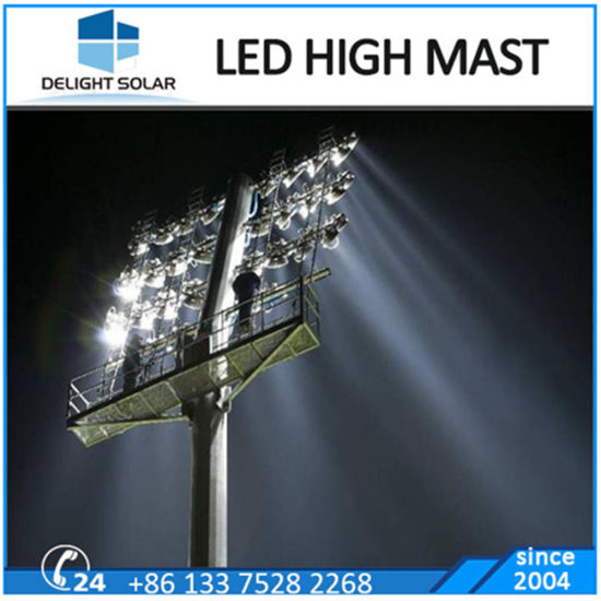 30m Outdoor Stadium Lighting Poles Cricket Tower High Mast