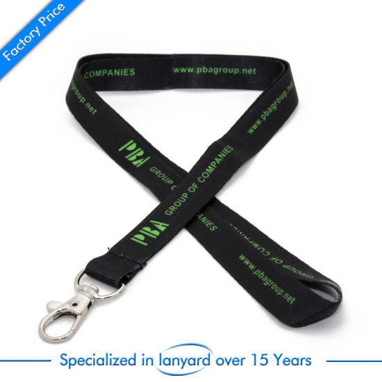 Wholesale Sublimation Lanyard for Promotion Gift Embroidered Pull Handle Necklace pictures & photos