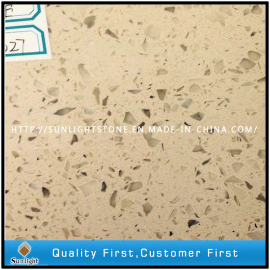 Artificial Pure White Quartz, Sparkles Quartz Stone Slabs, Carrrara Quartz pictures & photos