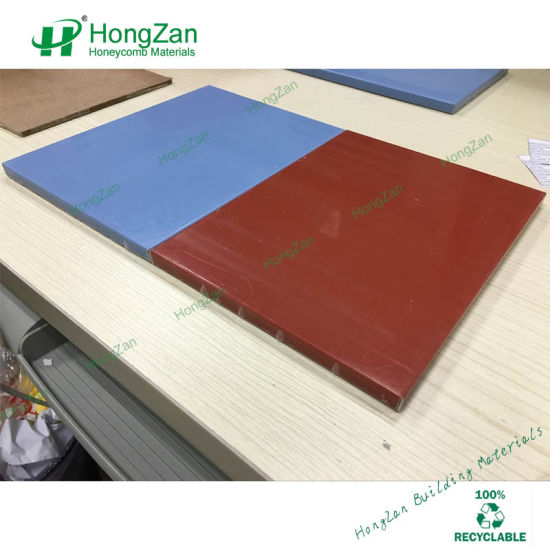 PVDF Coating Aluminum Honeycomb Panel for External Roof and Wall pictures & photos