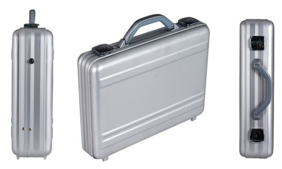 Aluminum Home Storage Boxes Quick Lock Business Office Briefcase//Attache Toolbox