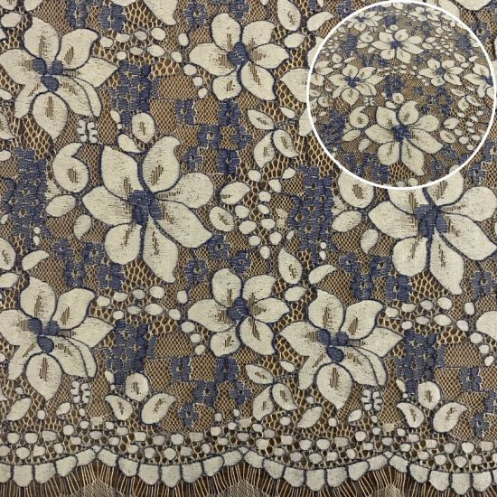 Textile Wedding Dress Lace Fabric Fashion Swiss Voile Lace (M2221)