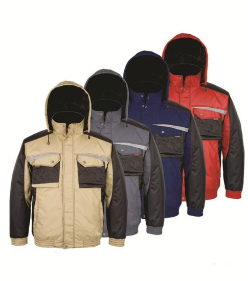 Bomber Mens Winter Parka Waterproof Jacket pictures & photos