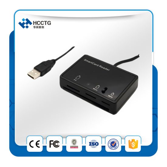 IC Chip Card Standard Card SIM Card Reader (Dcr3516) pictures & photos