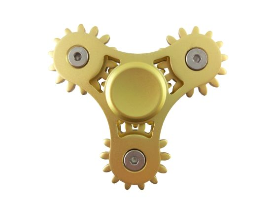 Toy Items New Four - Gears Linkage Finger Spinner pictures & photos