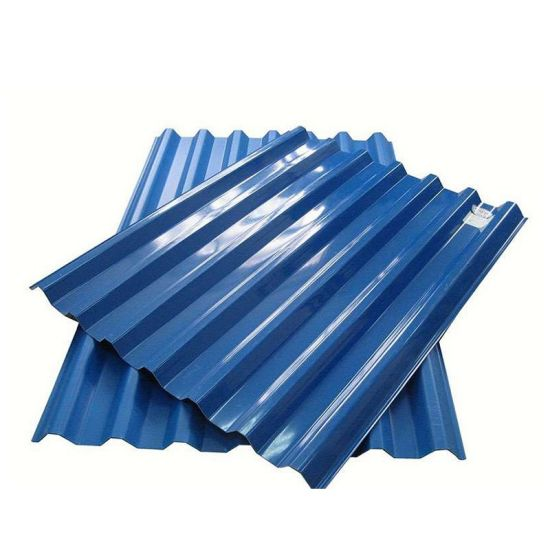 Africa Size Prepainted Galvanized PPGI Corrugated Steel Roofing Metal Sheet