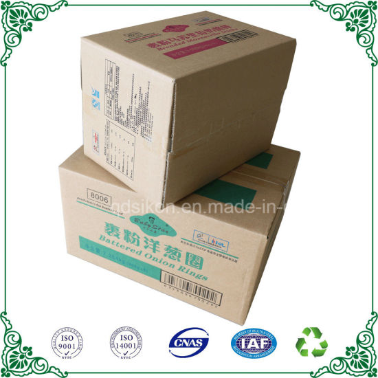 Top Side Open Stander Corrugated Carton Box Packaging Box