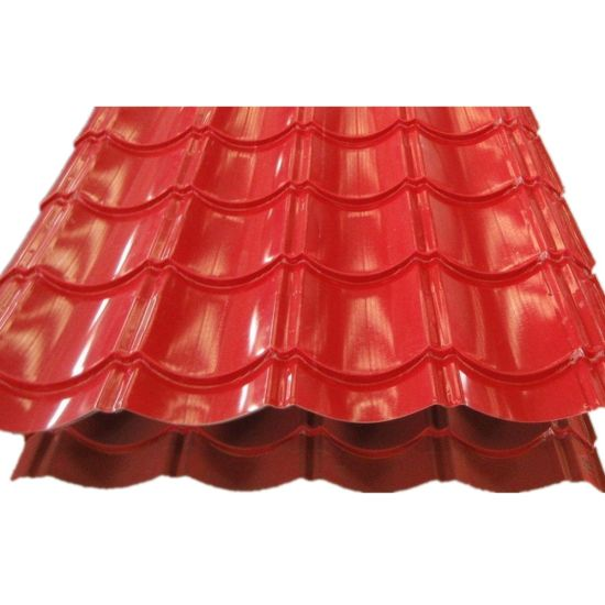 Building Material Color Coated Galvanzied Corrugated Roofing Sheet Price