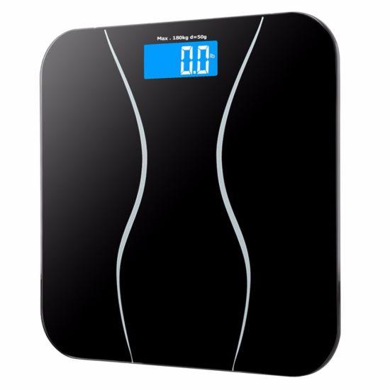 5AA Battery Digital 180kg Body Balance Fat Bathroom Scales