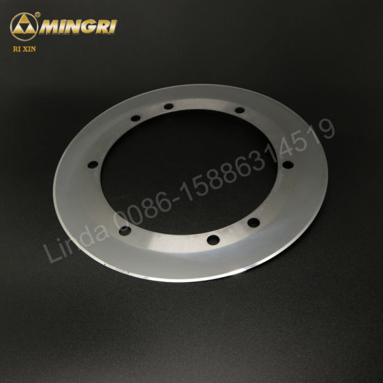 Round Tungsten Carbide Slitting Blade