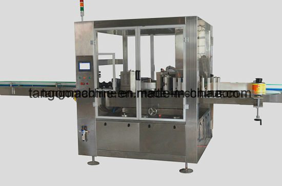 Round Bottle CSD Drink Hot Glue OPP Labeling Sticker Machine BOPP Type pictures & photos