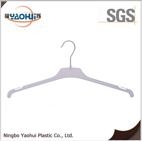 Fashion Man Cloth Hanger with Metal Hook for Display