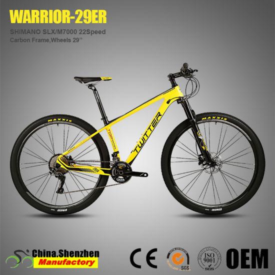 Slx M7000 22/33speed Air Suspension Carbon Fiber MTB 29er Mountain Bike