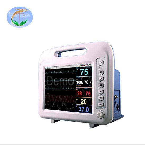 Yj-F6 Hot Sale Hospital ICU Bedside Cardiac Monitor Patient Monitor