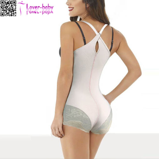 03f4ac50a7330 China Plus Size Body Shapers for Women with Lace L42717 - China Body ...