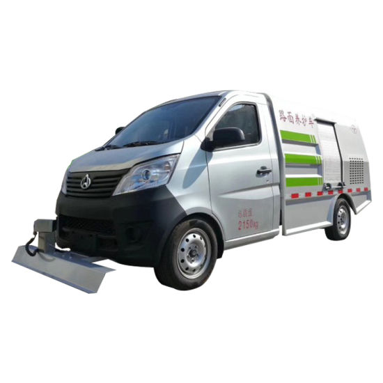 Changan Road Cleaning Car, Multi-Function High-Pressure Cleaning Car, Residential Road Washing Car
