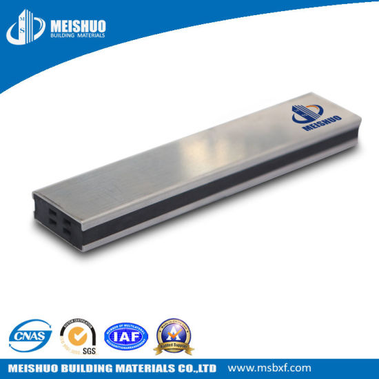 China Heavy Duty Ceramic Tile Movement Joint Strip For Floor