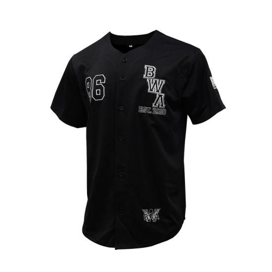 Healong Sports Jersey Wholesale Baseball Wear Men Custom Logo Softshell Baseball Shirt Clothes
