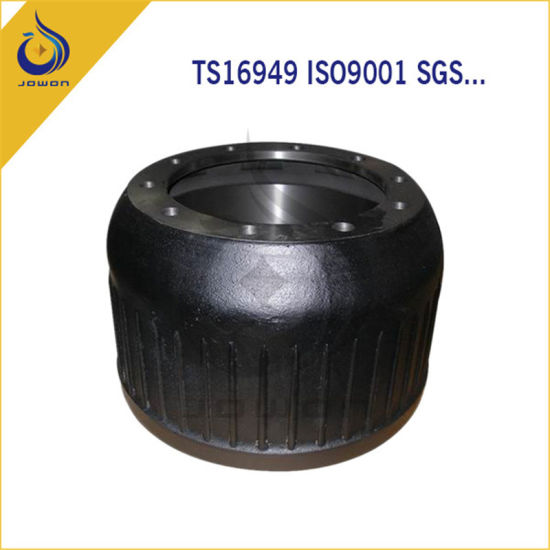 ISO/Ts16949 Certificated Truck Spare Part Brake Drum pictures & photos