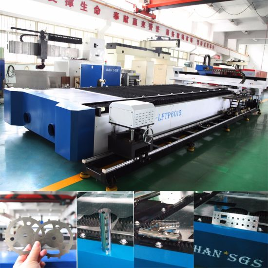 Supply CNC Metal Tube/Square Pipe Fiber Laser Cutting Machine Price pictures & photos