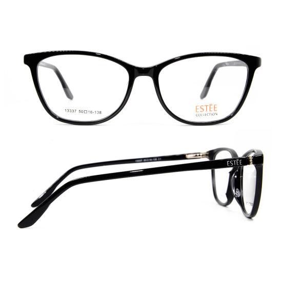 04a7ae994548 Ready Stock New Model Design Cat Eye Glasses Acetate Optical Eyeglass Frame  for Ladies