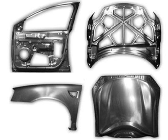 Design and Manufacture of Automotive Door Panels PA66 + 30% and Modified ABS Plastic Parts Mould