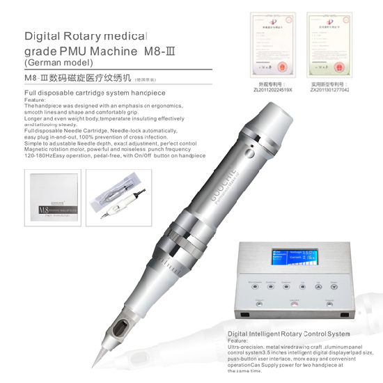 Goochie Digital Tattoo Permanent Makeup Machine pictures & photos