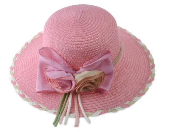 Summer Women Elegant Weaving Flowers Fisherman's Straw Hats