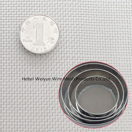 Plain Weave Stainless Steel Wire Mesh Cloth for Milling Sieve/Filter pictures & photos