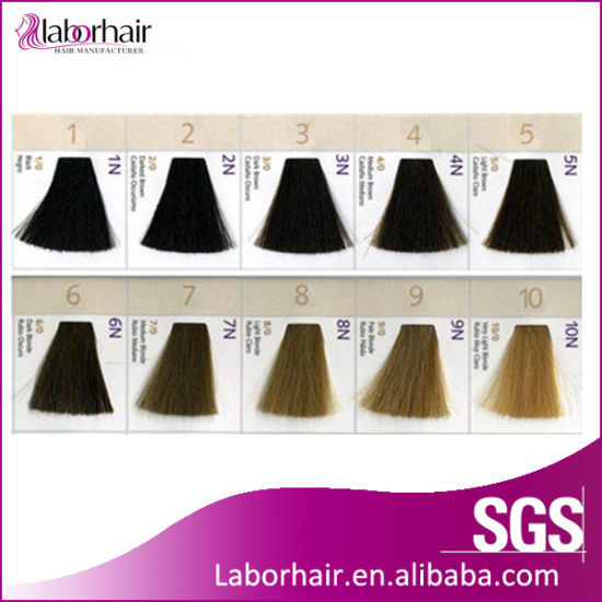 China Hair Color Swatch Book Manufactuer Strip Shape China Color