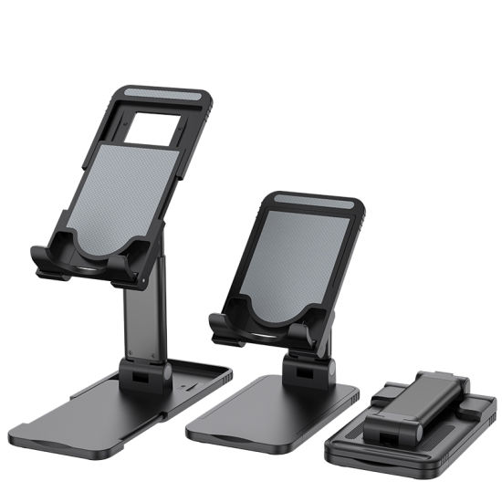 Factory Direct Sals Desktop Tablet Stand with Multi-Angle Universal Folding Tablet Phone Holder