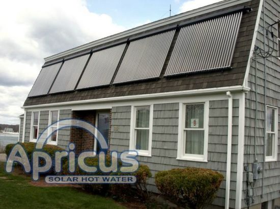 Pitched Roof Installed Solar Collector