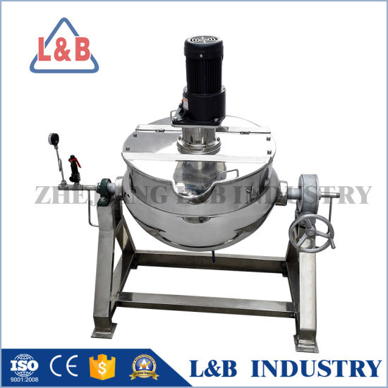 Electric Heating Mixing Tank with Scraper