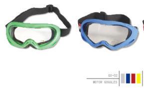 Men and Women's Makrolon Motoboy Motor Goggles