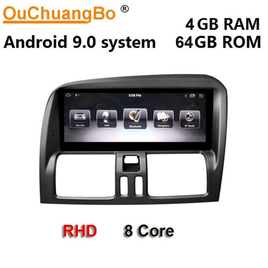 """Ouchuangbo Px6 GPS Radio Cassette Recorder for 8.8"""" Rhd Volvo Xc60 2009-2017 Right Hand Drive"""