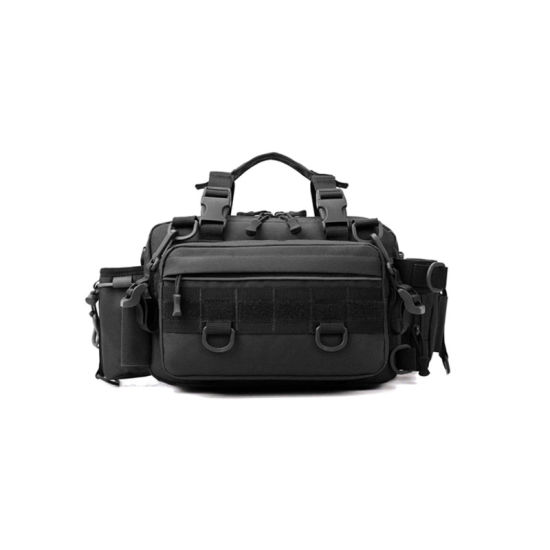 Fishing Tackle Box Bag - Outdoor Large Saltwater Resistant Fishing Bags - 100% Water-Resistant Polyester Material