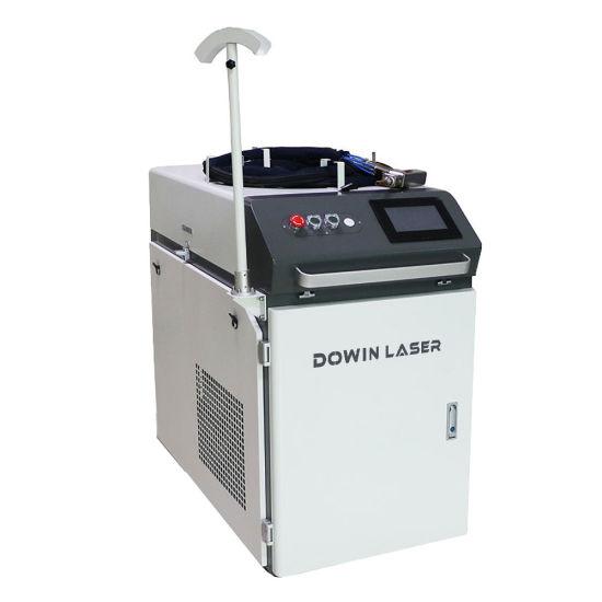 Good Quality 1000W 1500W 2kw Handhled Fiber Laser Welder 4mm Metal Carbon Steel CNC Laser Welding Machine for Industry